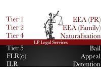 Immigration Specialist Visa service -Tier 2,Tier 4,Tier 5,ILR, EEA Family Visa, Bail, Appeal, FLR(O)