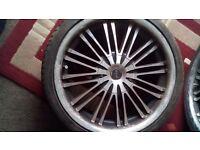 Mania 18inch wheels