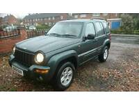 Jeep cherokee limited 3.7 V6 4x4 automatic