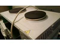 Plug in cooker/hob/grill