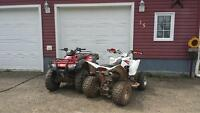 2005 yamaha raptor 350 lots of new parts