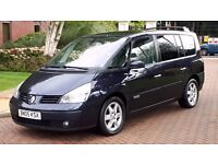 Renaut espace ,diesel auto, sat nav, leather 7 seater