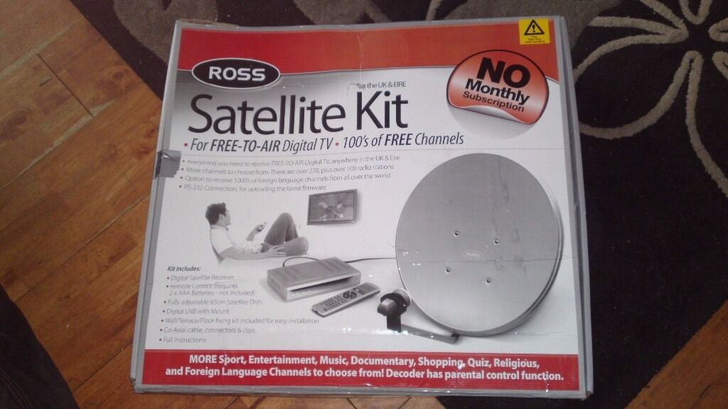 Ross Satellite Kit Free-to-Air Digital TV