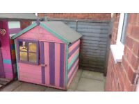 6 years old, had a new roof last year. Its in good condition for age. £40
