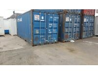 Used 20ft Shipping Containers FOR SALE £1350+Vat IN STOCK FOR VIEWING AT OUR GRANGEMOUTH DEPOT