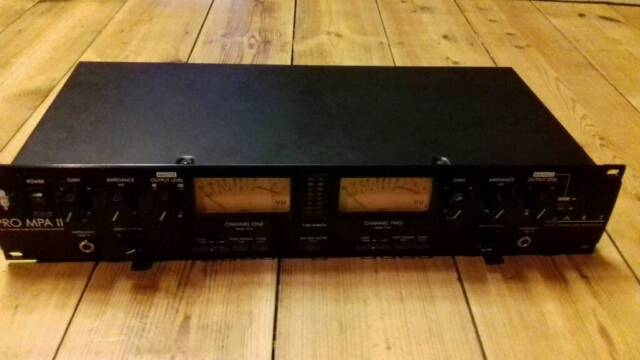 Art MPA Pro ii Dual Valve Tube Mic Preamp - VU Meter - No 48V on Channel 2  | in St Leonards-on-Sea, East Sussex | Gumtree