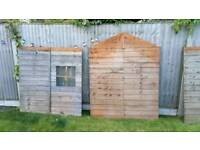 Wooden playhouse 5x6 ft