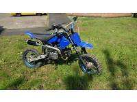 Thumpstar 140cc pit bike ( loose chain and sprocket)