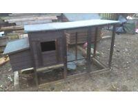 chicken run or small animal shelter.