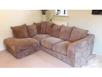 Suite - Corner Sofa And Swivel Chair Set