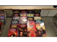 Selection of Star Trek paperback novels