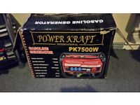 7500w generator for sale