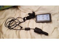 Garmin Nuvi 205W with car charger and holder
