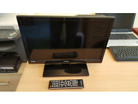ALBA 19 inch HD ready LED TV with DVD players model LE-19GV01+DVD