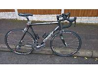 scott cr1 road bike carbon racing cycle large inc zipp wheels