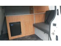 Camper conversions on most makes of van from £2995 with 12 months waranty