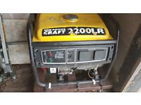 Powercraft 2200LR Petrol 4 Stroke Electric Generator