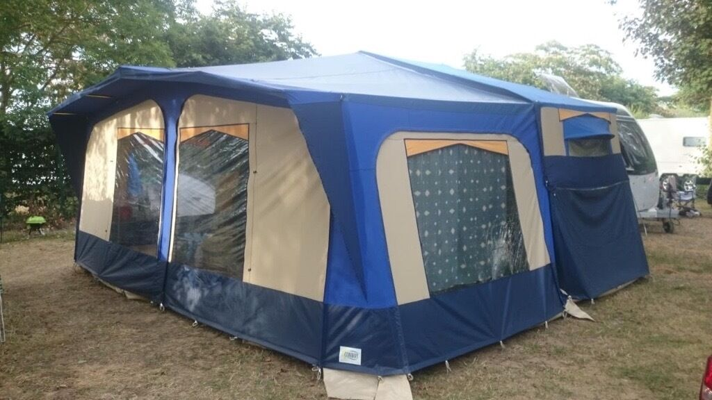 Conway Cruiser Folding Camper 2006 6 Berth Exc Cond 1 Owner Awning
