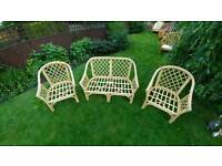 Patio/Conservatory Furniture - Wicker - *Great Price*
