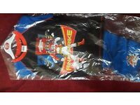 POWER RANGERS CHILDREN PYJAMA AGE 7-8 %100 COTTON FOR £4 TWO FOR £7. NEW WITH TAG.
