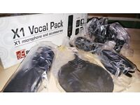 sE Electronics X1 Vocal Pack Microphone & accessories