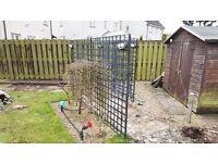 Garden Clearance - 3 Heavy Duty Metal Garden Trellis's