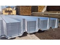 "ROOFING SHEETS METAL BOX PROFILE GALVANIZED 10ft X 2ft 9"" 3mtr X 0.85mtr 17kg HEAVY DUTY."