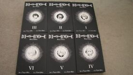 Death Note Black Edition FULL SERIES (6 books) in NEW condition