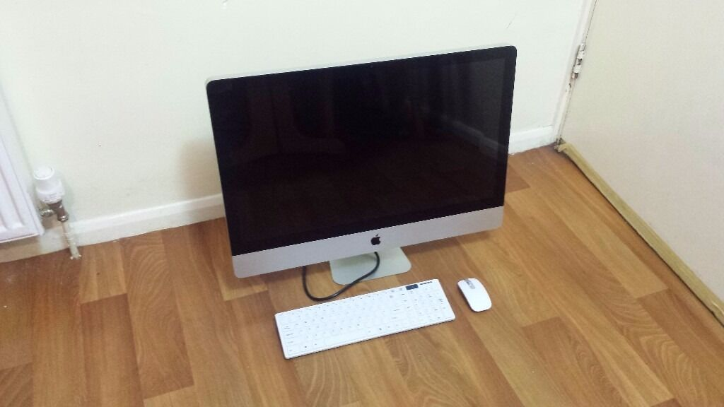 """Apple iMac 27"""" Intel Quad Core i5 3.1Ghz, 8GB RAM, 2TB HD, 1GB GPUSOFTWAREWARRANTYin Hackney, LondonGumtree - NO SWAPS OR EXCHANGES NO OFFERS. PRICE AS STATED CASH/BANK TRANSFER ONLY COLLECTION or delivery to some parts of London and surrounding areas from £10 Mid 2011 Model With higher processor and GPU 3 Months Return to Base warranty The iMac is in full..."""