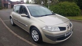 Renault Megane 1.5dci (diesel)2006, 5 door hatchback *1 owner* *2 keys*