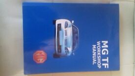 MG TF Workshop Manual. Covers all MG TF Models from 2002 to end of production.