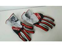 Motorbike leather gloves M