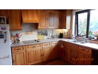 Good reusable kitchen units, including dresser.