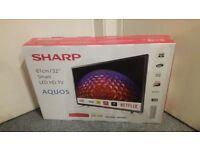 "Sharp Aquos LC 32CHG6021K - 32"" LED Smart TV - 720p - Brand New & Sealed."