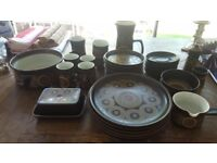 Denby crockery vintage / retro