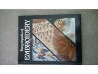 Encyclopedia of embroidary hardback book