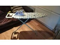 Iron and Ironing Board £20