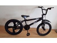 The Jester BMX Bike (Suit age: 8 to 16 years).