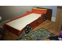 Racing Car Toddlers Bed