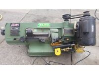 swivel metal cutting band. saw