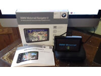 BMW Navigator V. Excellent condition and in original box, case, manual and USB lead.
