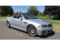 2003 BMW M3 3.2 Silver Convertible Only 50,000 Mileage!! LOW Mileage!! PX/SWAP