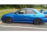 Subaru impreza sti. 360 bhp andy forrest