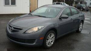 2010 Mazda Mazda6 GS 82,000 KILO,1AN DE GARANTIE  bijou