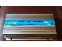 1000watt Grid-Tie Power Inverter for Wind or Solar - New In Box - Never Used.