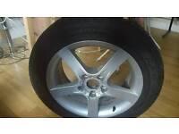 Spare wheel & tyre Seat