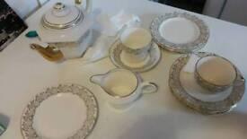 Gold plated kitchen set