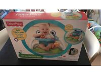 new Fisher Price sit -me-up- floor seat