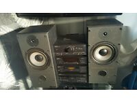 Technics with mission speakers