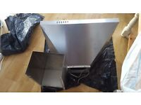 ElectriQ 60cm Traditional Stainless Steel Chimney Cooker Hood rrp £65- FREE